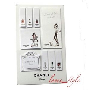CHANEL Post-it Sticky Notes
